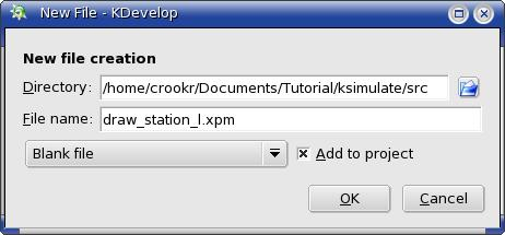 KDE programming tutorial using KDevelop